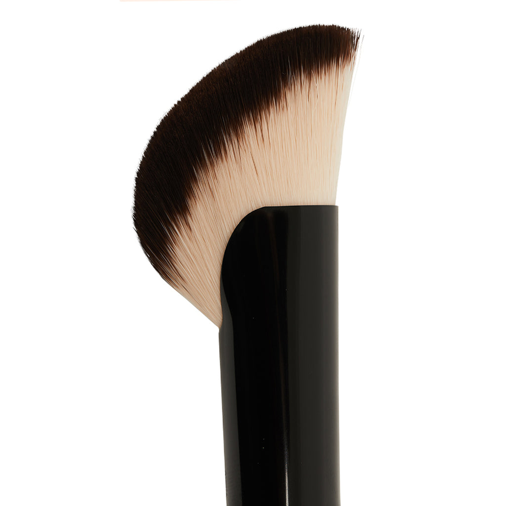 """ Cruelty Free Foundation Brush With Wooden Handle"""