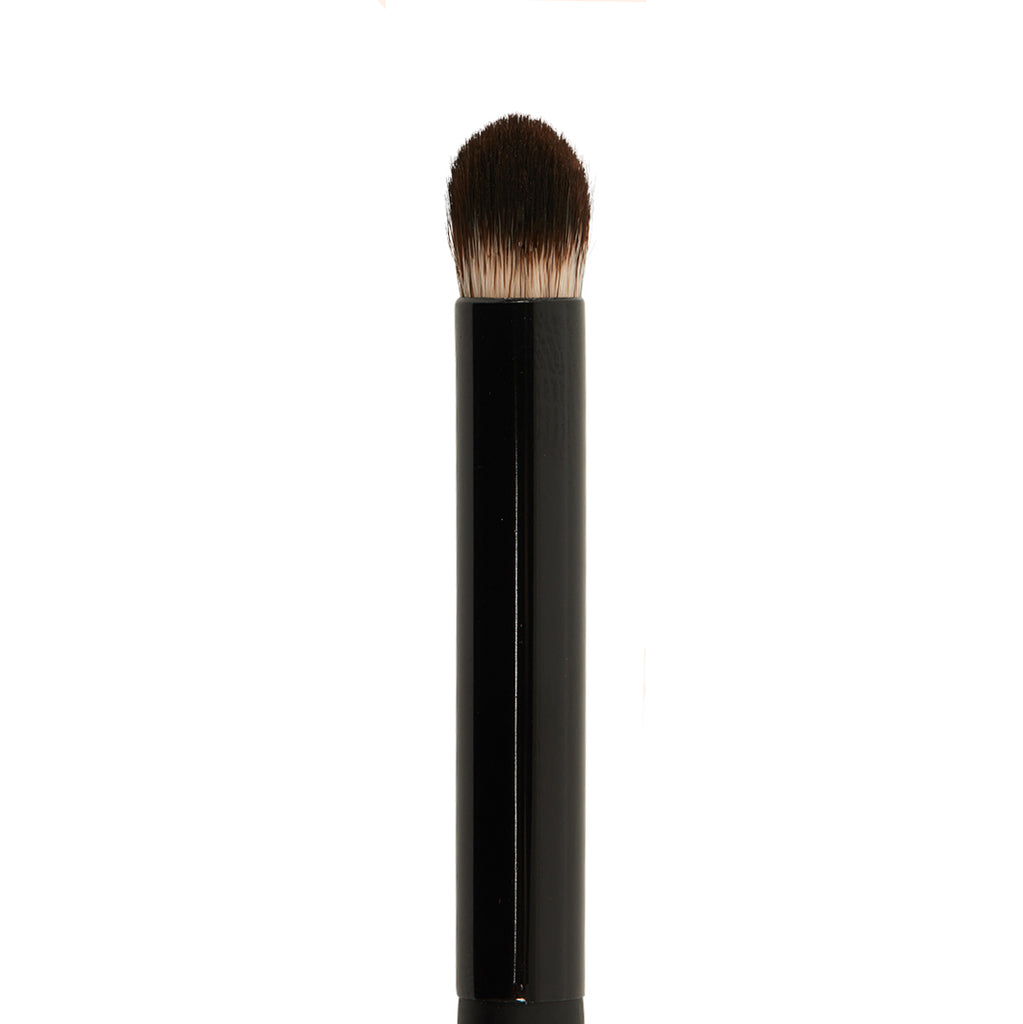 """  Smudge Eyeshadow Brush with Wooden Handle """