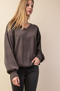 aubrey ribbed sweater