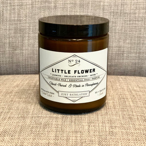 artisan candles vintage collection - little flower