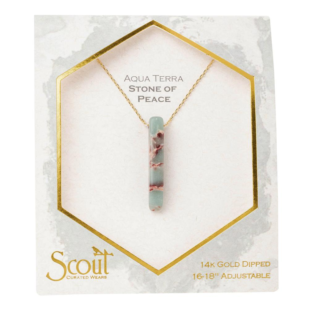 stone point necklace | stone of peace