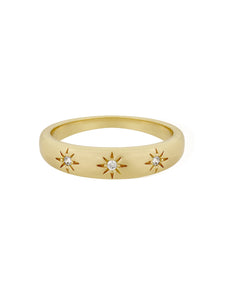 daphne | star band ring