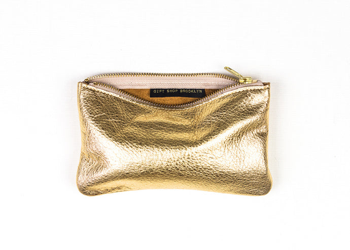 leather wallet/clutch - mae