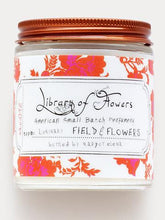 luminary candle - field & flowers