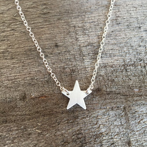 identity mini star choker necklace