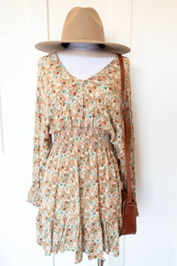 fall fields plunge dress