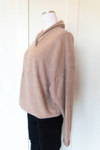 lucy cowl pullover