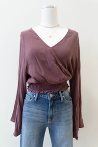 berry berry crop blouse