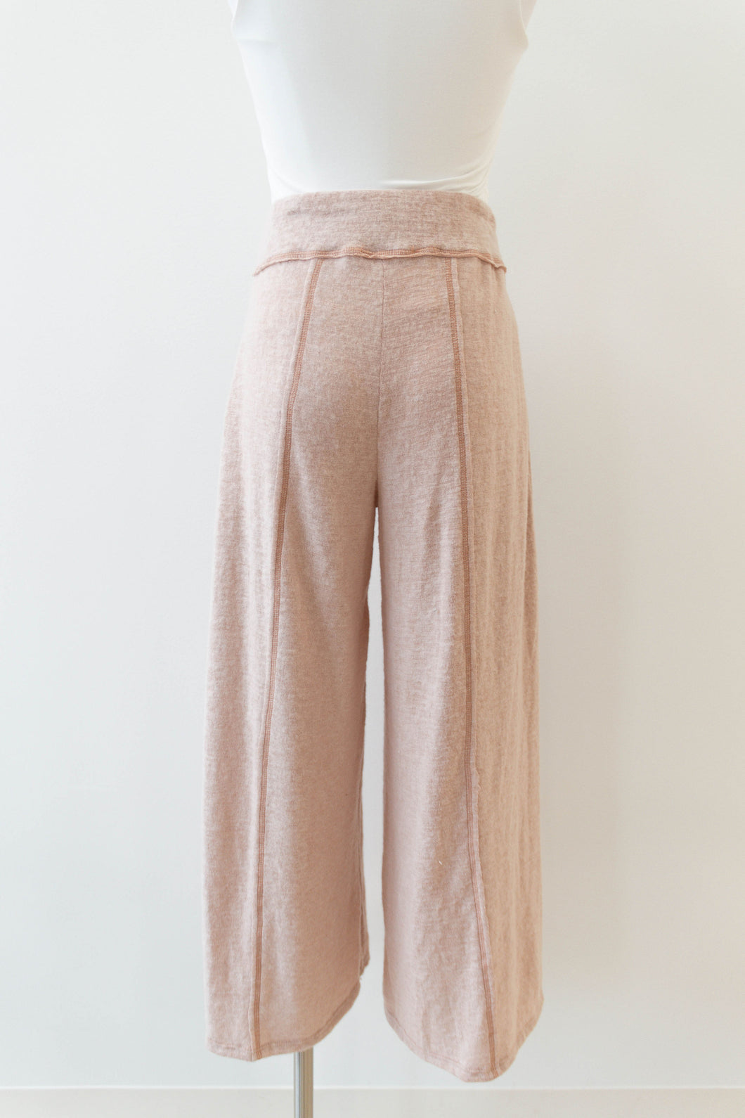 rise + shine brushed pant
