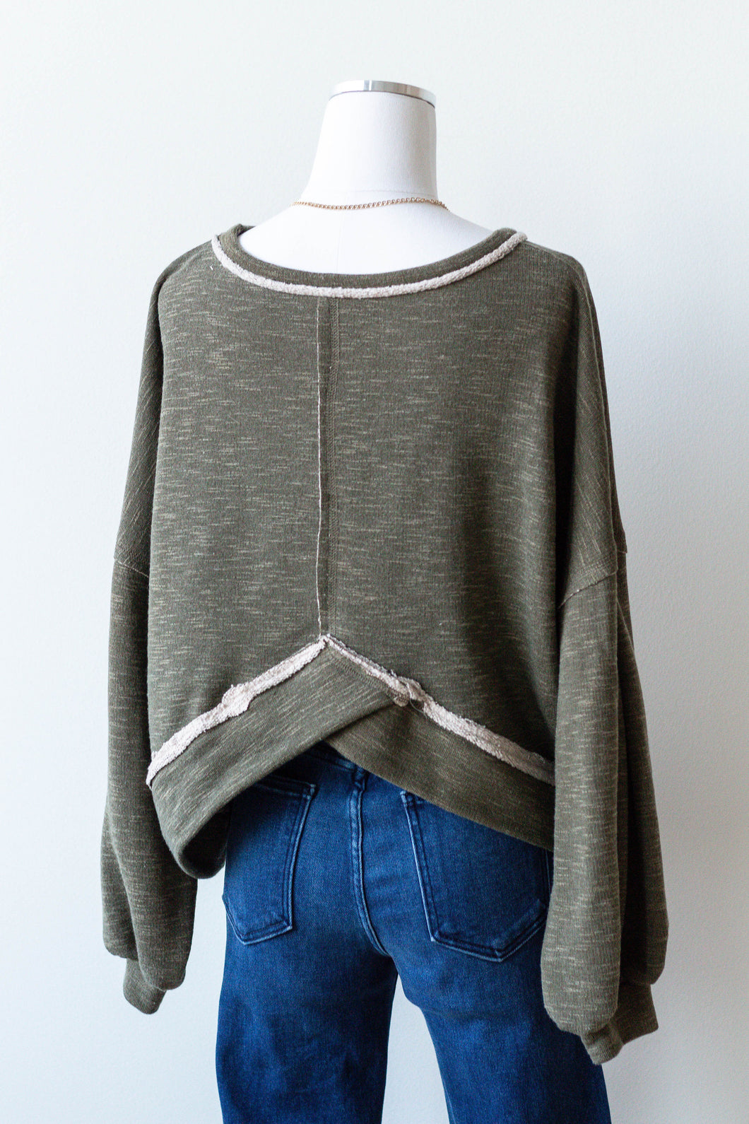 the evergreen pullover