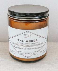 vintage candle collection - the woods