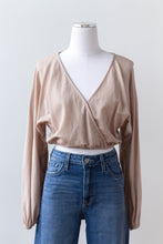 honey crop blouse