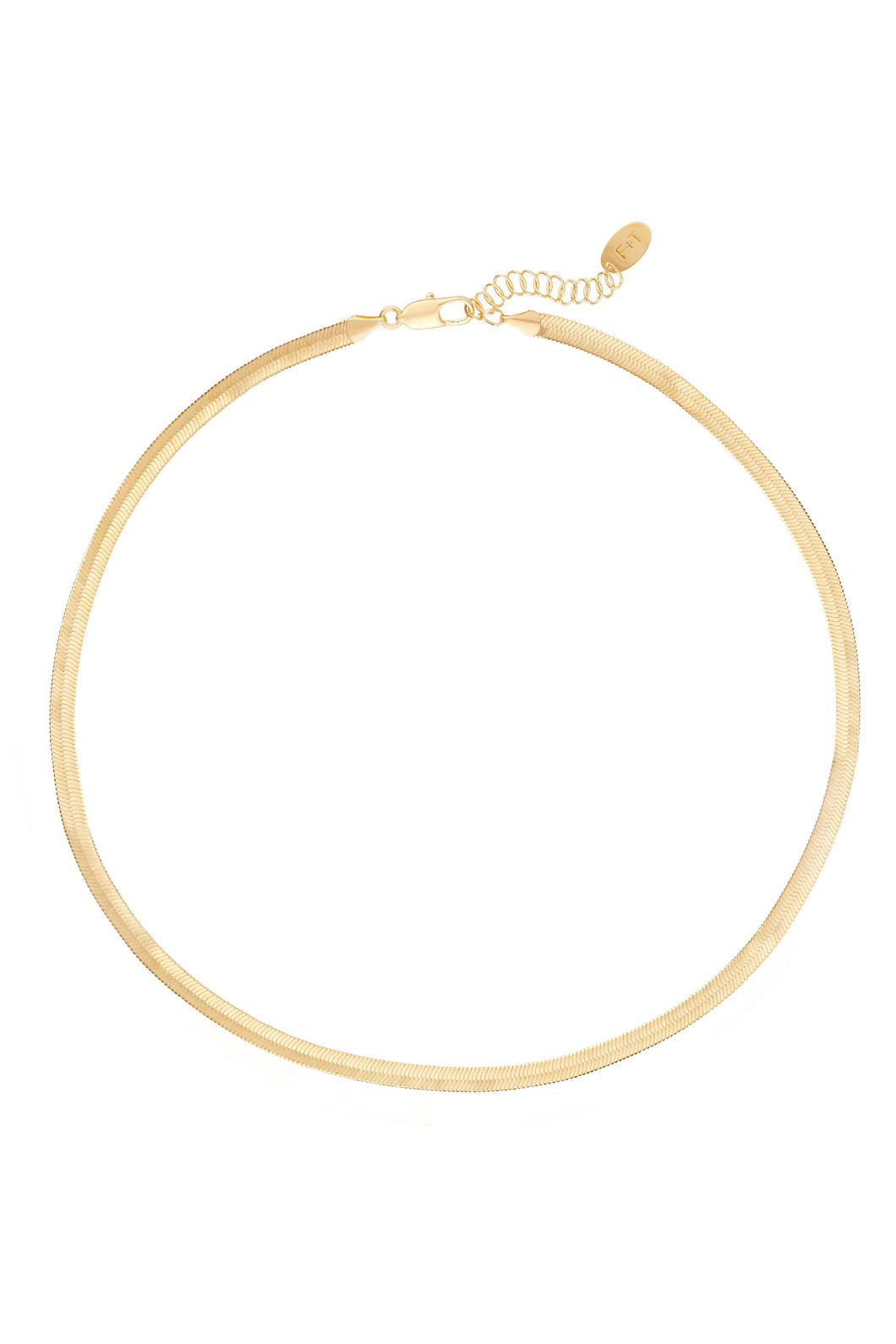 jagger | flat chain necklace