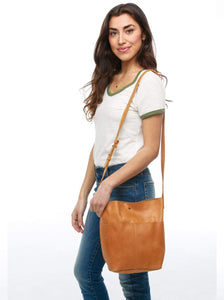 selam - crossbody bucket bag