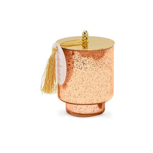 tinsel collection candle | warm wishes