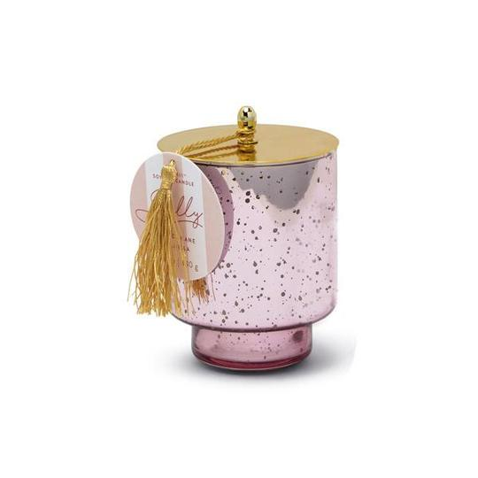tinsel collection candle | jolly