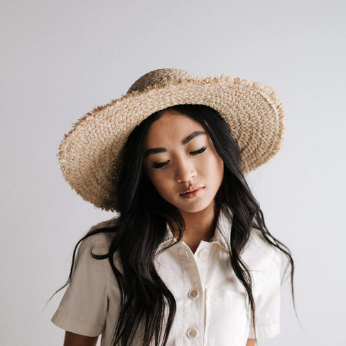 addie straw floppy hat