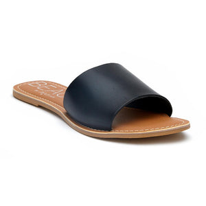 cabana slide sandal | black
