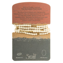 stone wrap bracelet + necklace | stone of the supreme nurturer