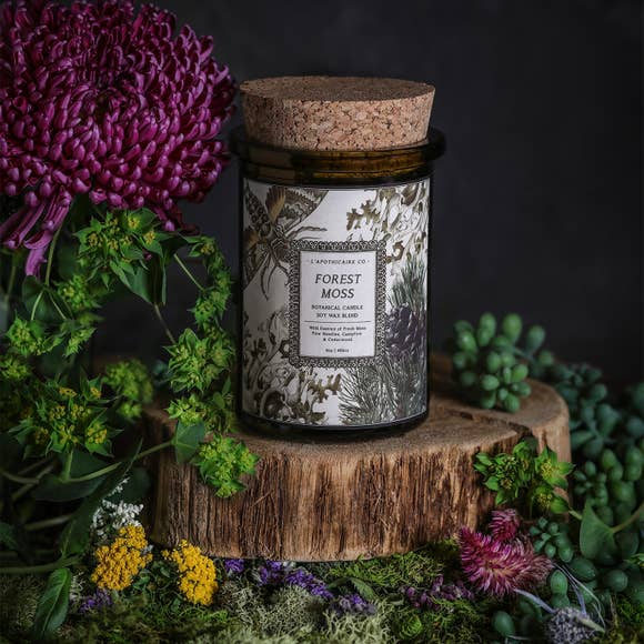 botanica candle | forest moss