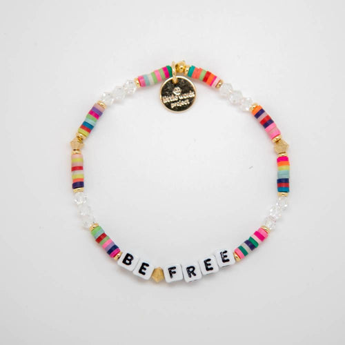 letter bead bracelet | good vibes collection