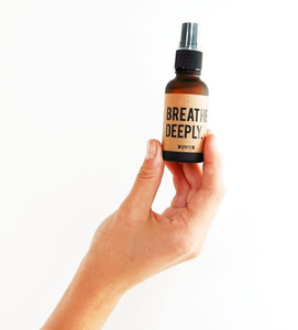 essential oil mist - breathe deeply