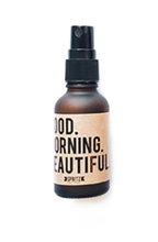 essential oil mist - good morning beautiful