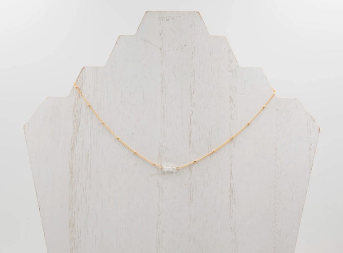 triple herkimer diamond choker