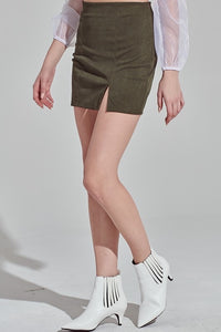 carly corduroy skirt