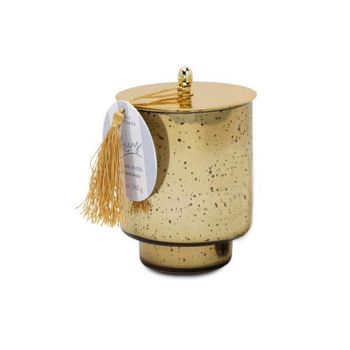 tinsel collection candle | cheers