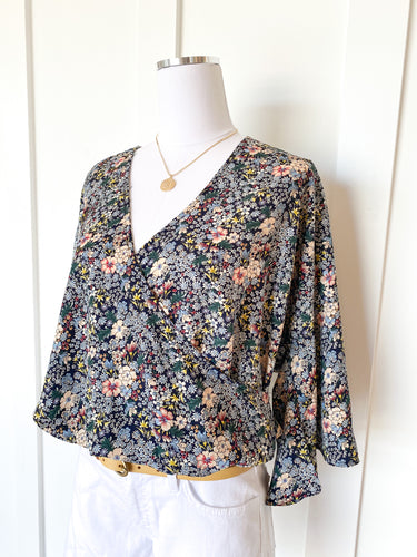 floral fields blouse