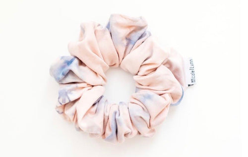 slim pattern scrunchie
