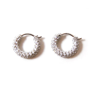 geni hoop earrings