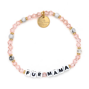 letter bead bracelet | mom life collection
