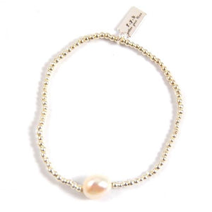 avery beaded pearl bracelet