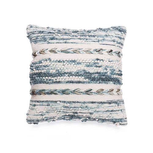 space dyed indigo pillow