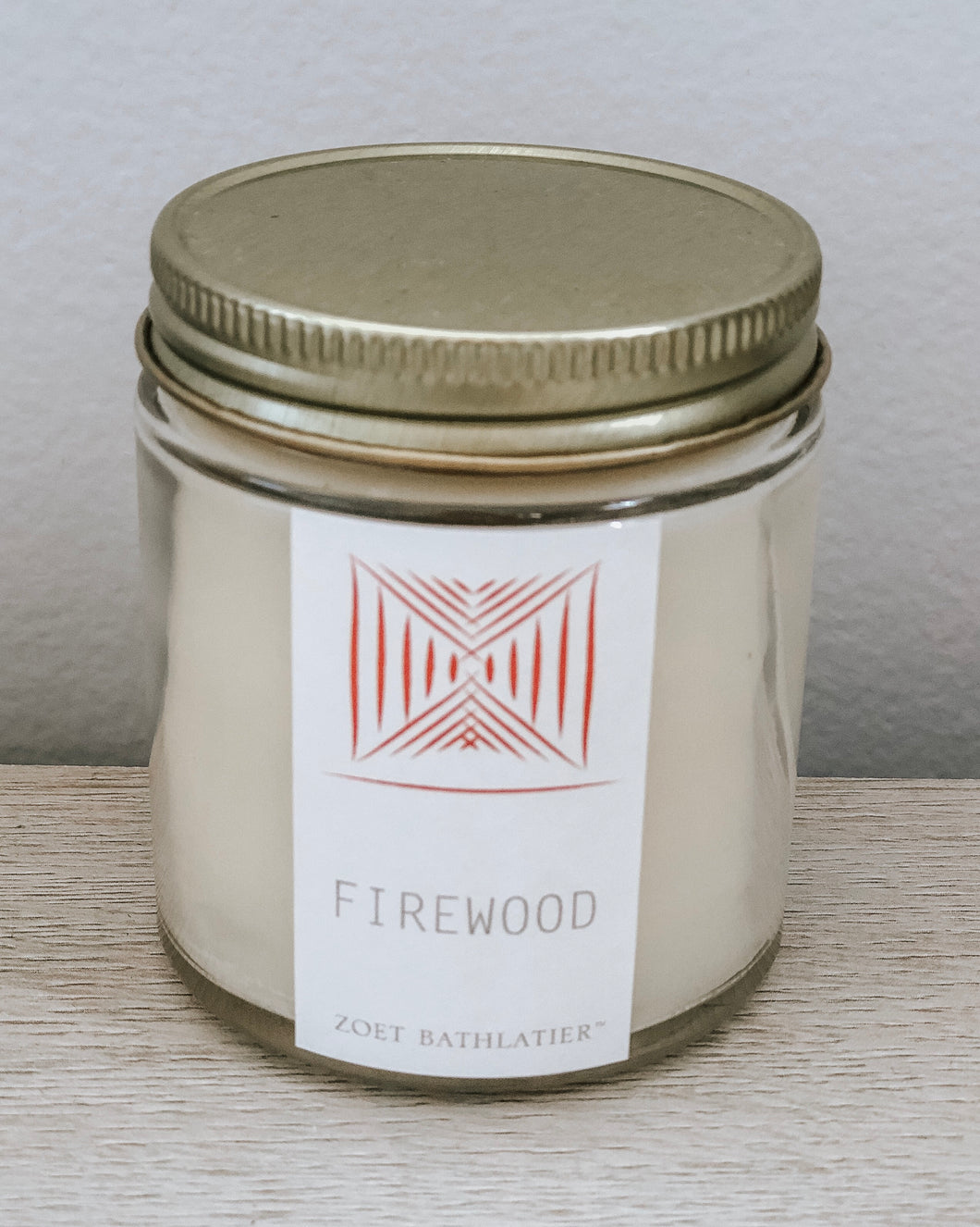 artisan candles - firewood