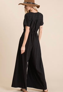 a day in the life crepe jumpsuit