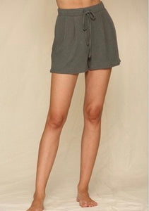 weekender ribbed lounge shorts