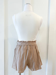 jordyn textured shorts