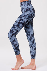 high rise basic midi legging