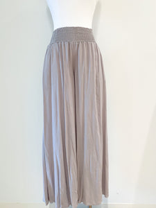 around town wide leg pants