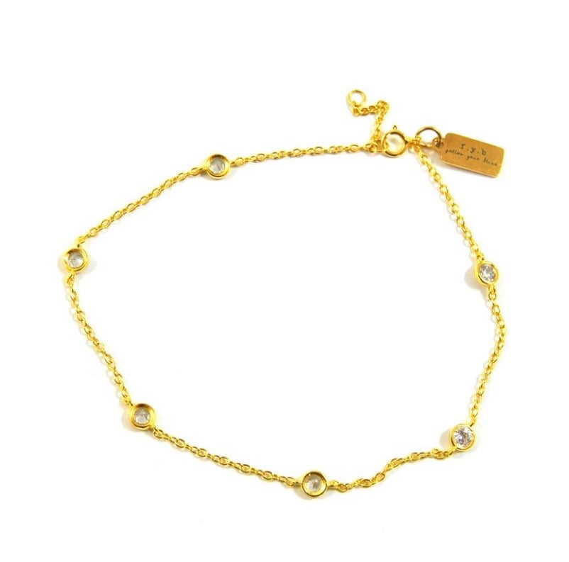 rian cz anklet