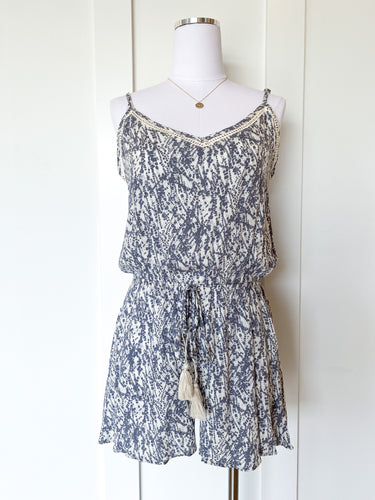 mallory floral romper
