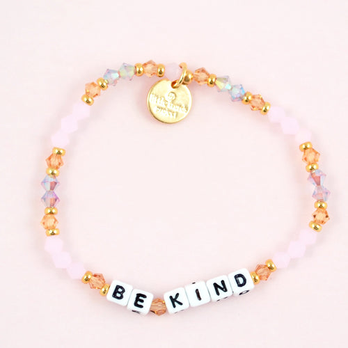 letter bead bracelet |  be kind