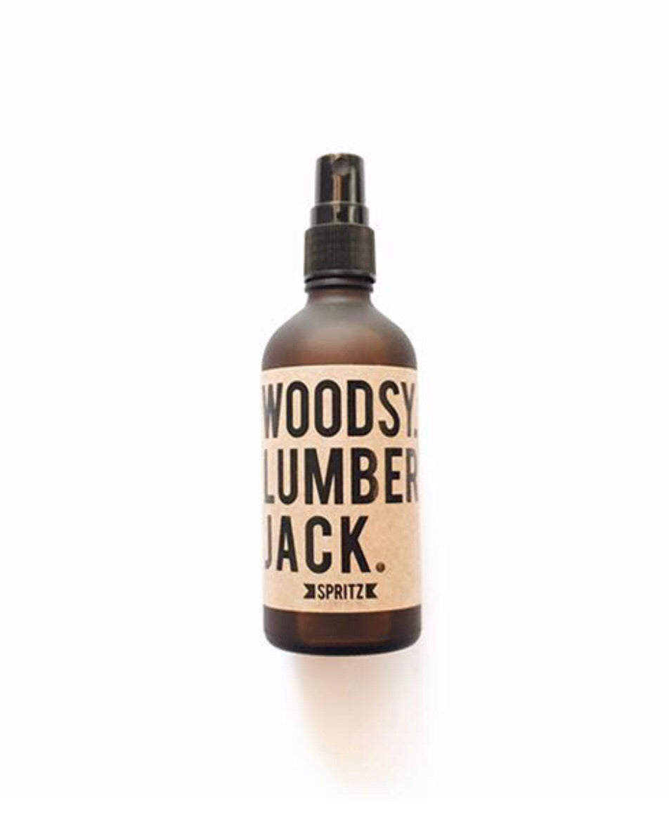 essential oil mist - woodsy lumberjack