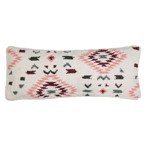 aztec lumbar pillow