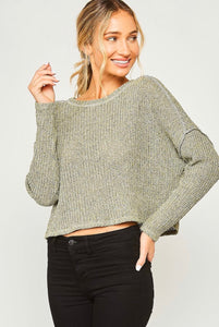 bree knit crop sweater
