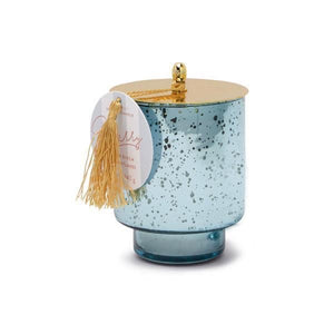 tinsel collection candle | merry
