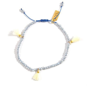 milly bracelet | powder blue